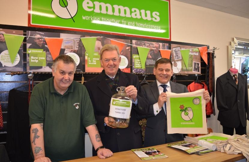 MPs visit Emmaus