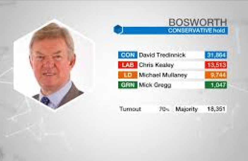 2017 General Election - Bosworth