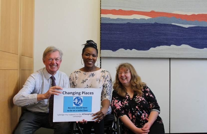 David Tredinnick supporting Changing Places