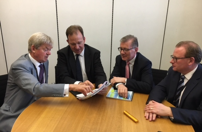 David Tredinnick meets Roads Minister