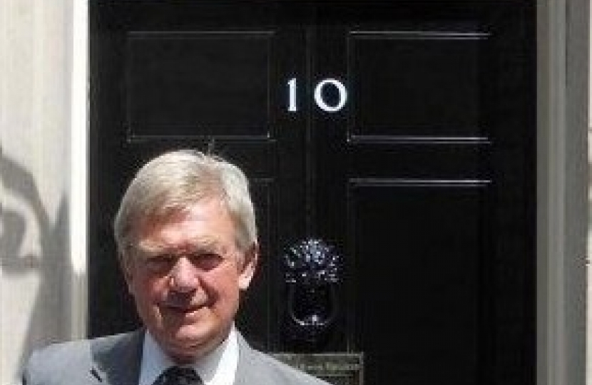 David Tredinnick MP in Downing Street