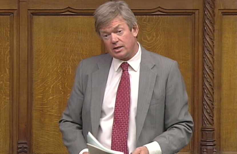 Firm Action on I.S. required says David Tredinnick MP