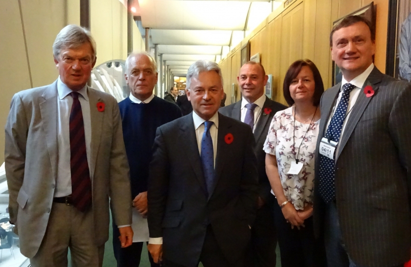 House of Commons meeting to discuss local Fire Service matters.
