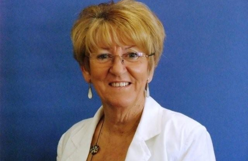 County Councillor Janice Richards