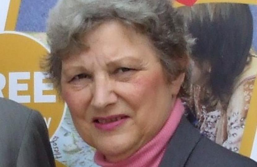 County Councillor Ruth Camamile